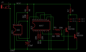 LED strobe schematic